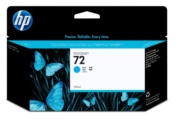 HP 72 Ink Cartridge Cyan 130ml C9371A