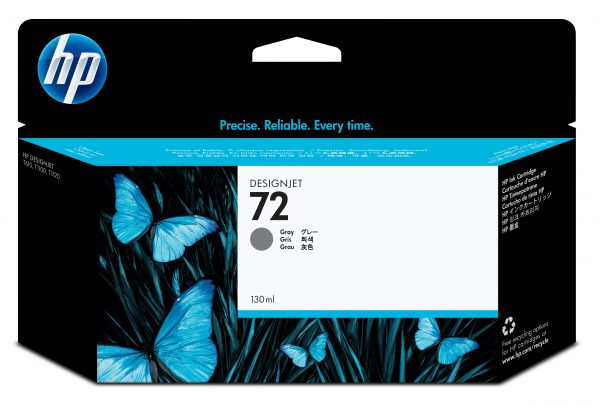 HP 72 Ink Cartridge Grey 130 ml C9374A