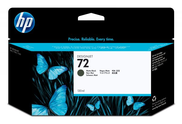 HP 72 Ink Cartridge Matte Black 130ml C9403A