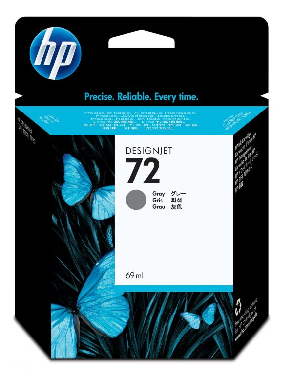 HP72 Ink Cartridge Grey 69ml C9401A