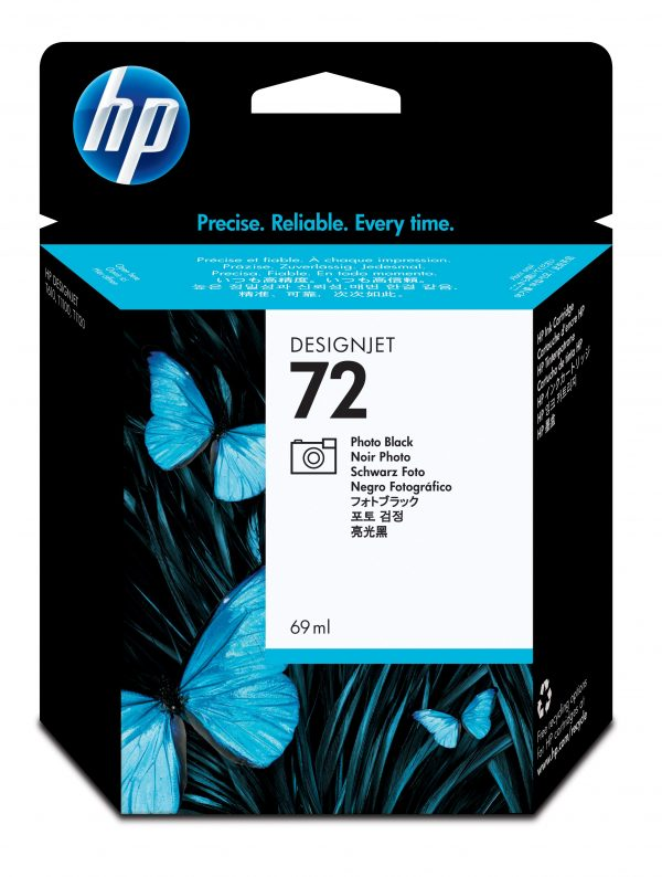 HP72 Ink Cartridge Photo Black 69ml C9397A