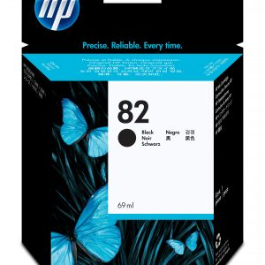 HP82 BLACK INK CH565A