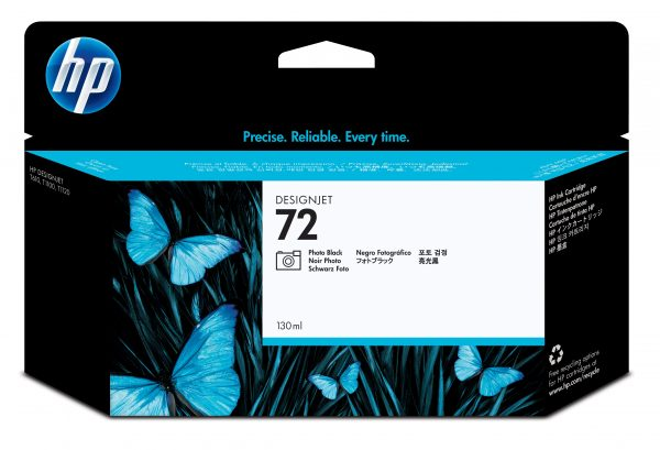 Hp 72 Ink Cartridge Poto Black 130ml C9370A