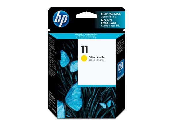 hp11 yellow ink c4838a