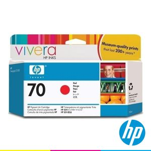 Red Vivera HP Inks