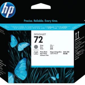 HP 72 Grey & photo black printhead