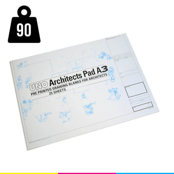 a3 tracing paper uno architect pads