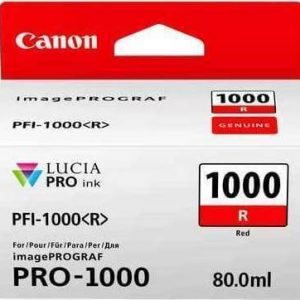 PFI-1000-Canon-ink-red-0554c001